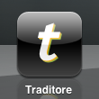 Icône de l'application Traditore (prototype)